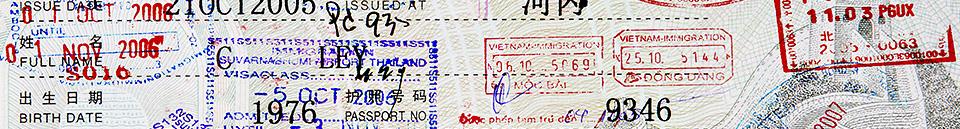 Services - Visas, Passports